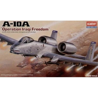 "A-10A ""OPERATION IRAQI FREEDOM"" - 1/72 SCALE - ACADEMY"
