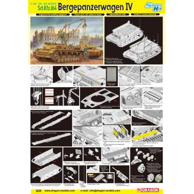 BERGEPANZERWAGEN IV SD.KFZ.164 - 1/35 SCALE